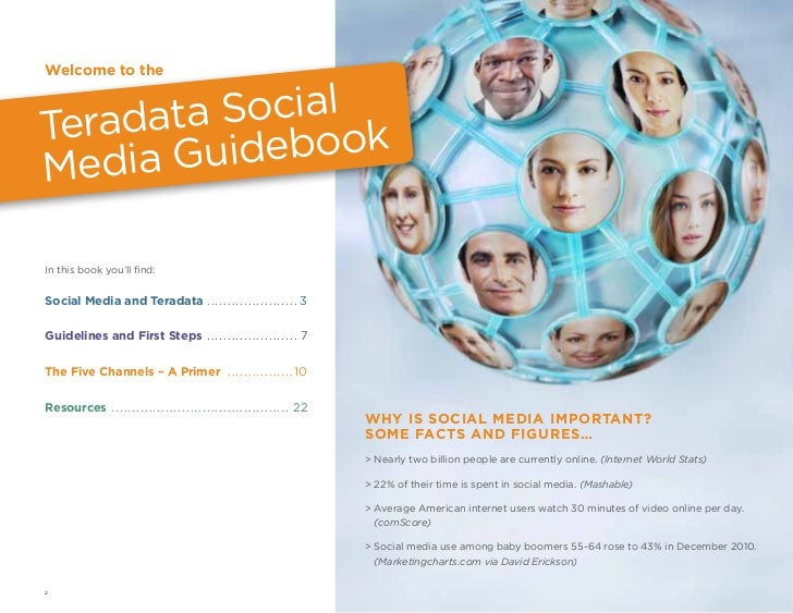 Teradata Social Media Guidelines Slide 2