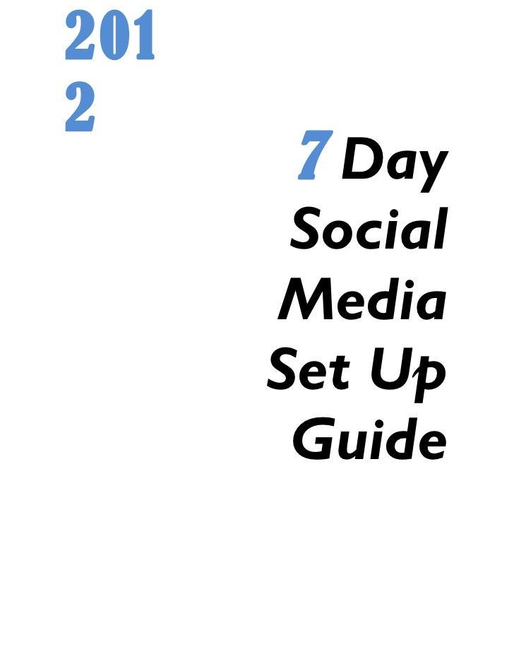 Social Media Guide for REALTIST
