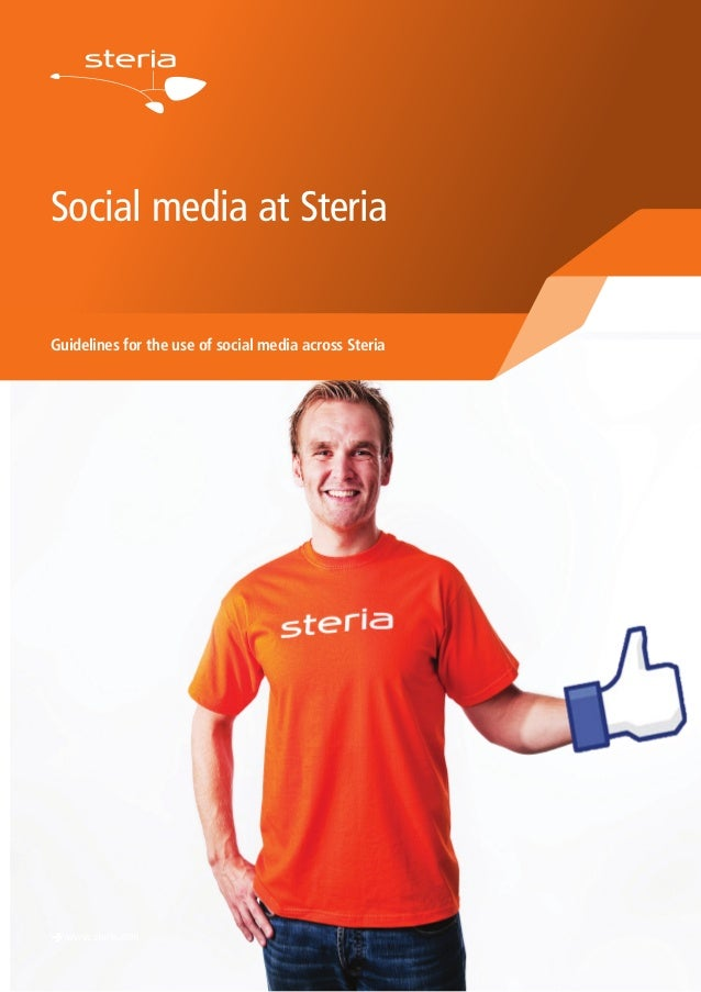 Social media at Steria Guidelines for the use of social media across Steria è www.steria.com