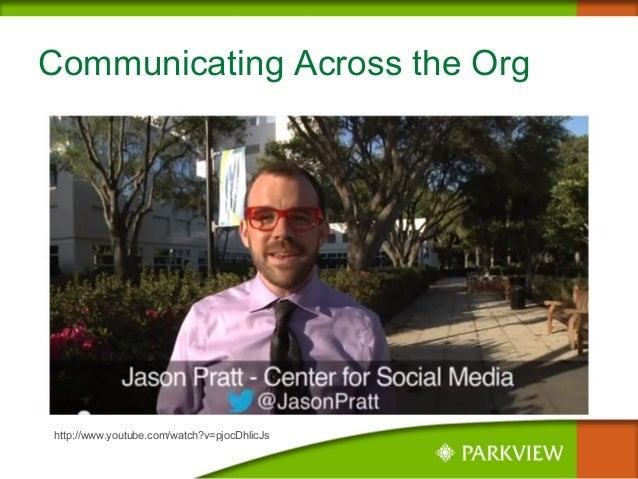 Communicating Across the Org http://www.youtube.com/watch?v=pjocDhlicJs