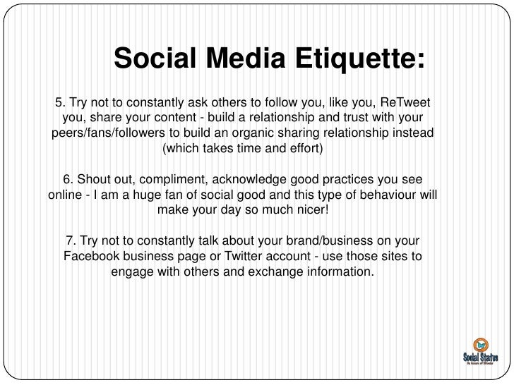 Social media etiquette in the workplace