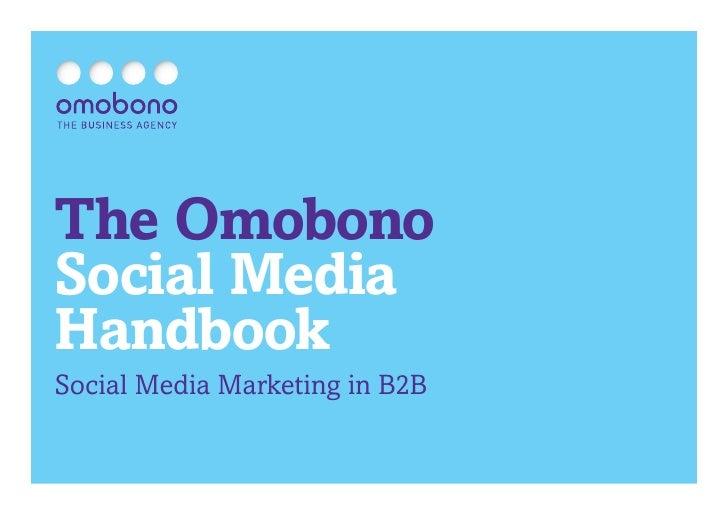 The OmobonoSocial MediaHandbookSocial Media Marketing in B2B