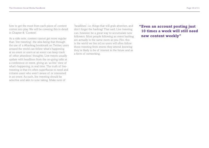 The Omobono Social Media Handbook                                                                                        ...