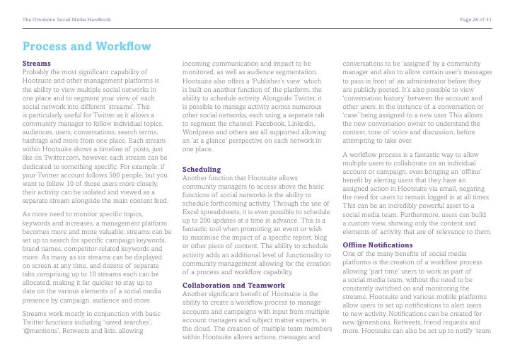 The Omobono Social Media Handbook                                                                       Page 28 of 51Goin...