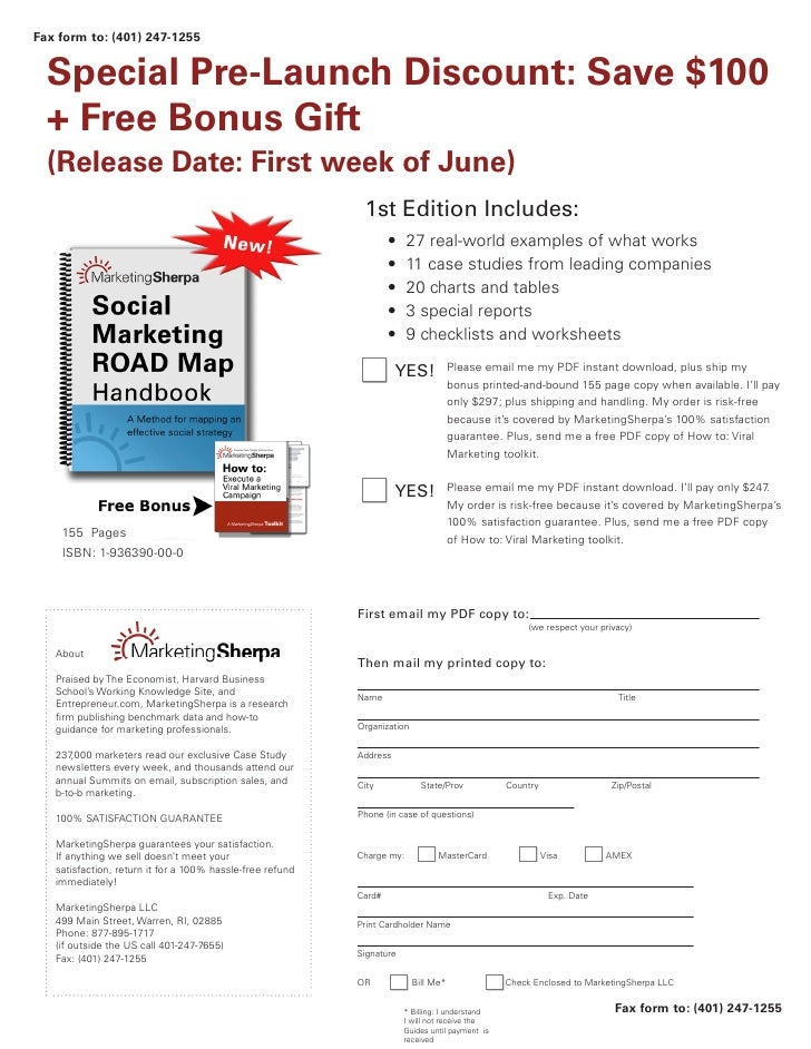 Fax form to: (401) 247-1255     Special Pre-Launch Discount: Save $100   + Free Bonus Gift   (Release Date: First week of ...
