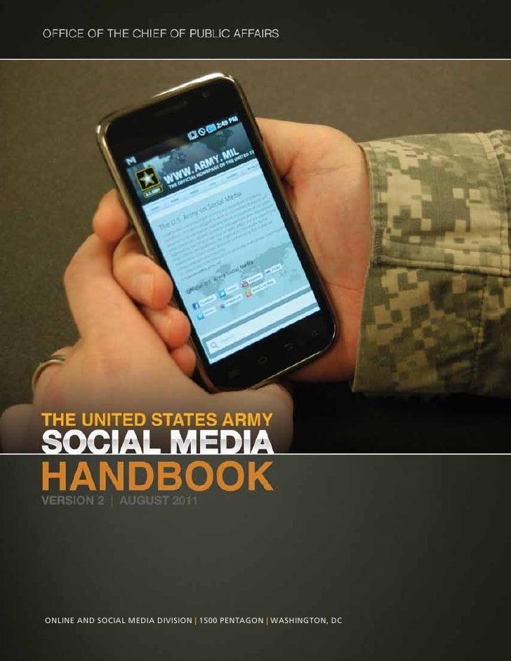 Online and SOcial Media diviSiOn | 1500 PentagOn | WaShingtOn, dc