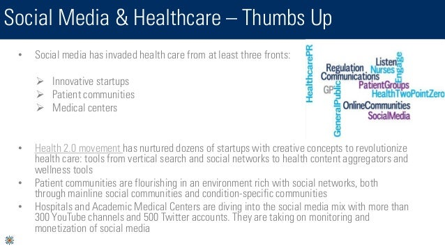 Social Media & Healthcare - Opportunities & Obstacles