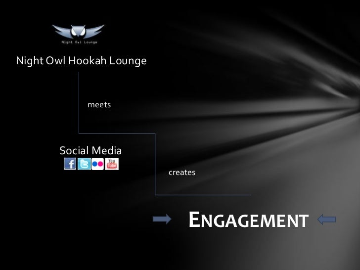 Night Owl Hookah Lounge            meets       Social Media                          creates                              ...