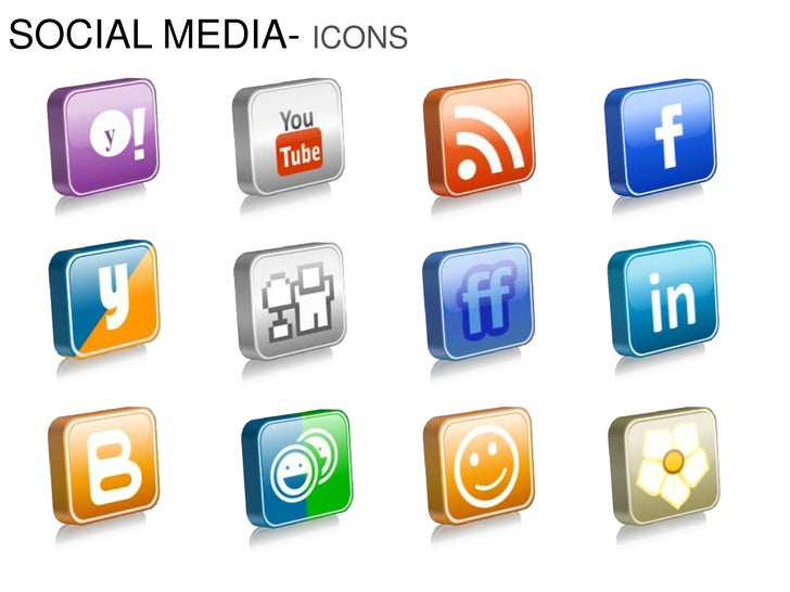 SOCIAL MEDIA- ICONS