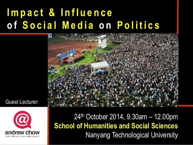 the influence of technology on politics