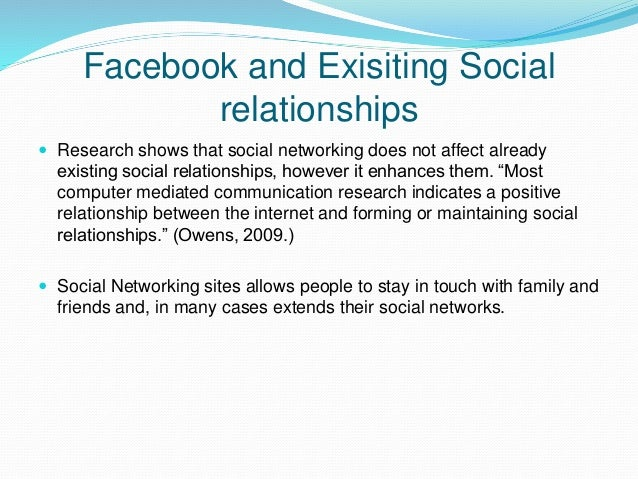 social media and relationships essay Essay topics about social media  the change in the way we handle our relationships - this is a very valid point  we could start from the beginning and.