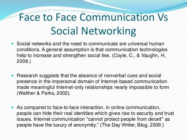 impact technology social interaction