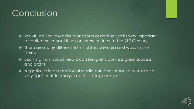 social media impact on the 21st century