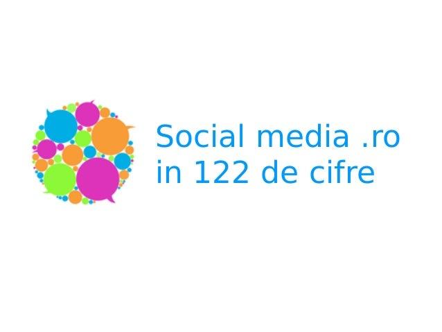 Social media .ro  in 122 de cifre