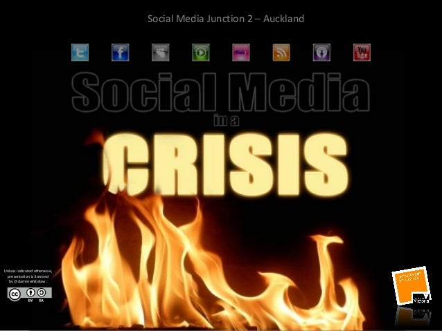 Social Media Junction 2 – Auckland Unless indicated otherwise, presentation is licensed by @darrenwhitelaw :