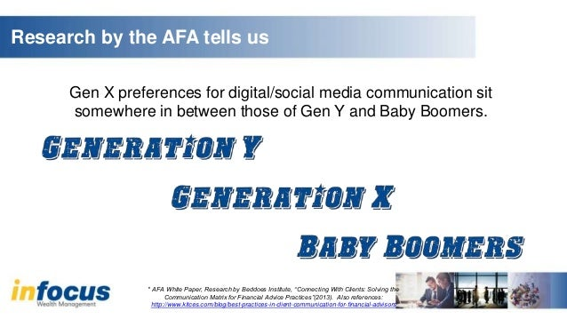 Baby boomers are jealous generation x essay