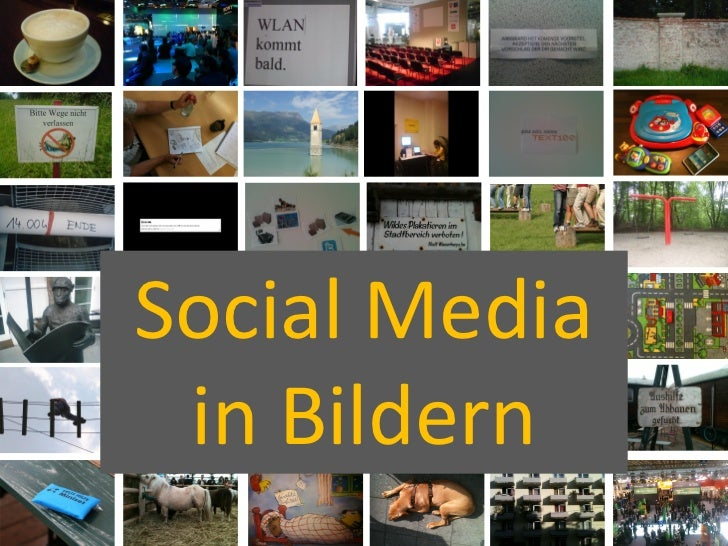 Social Media  in Bildern