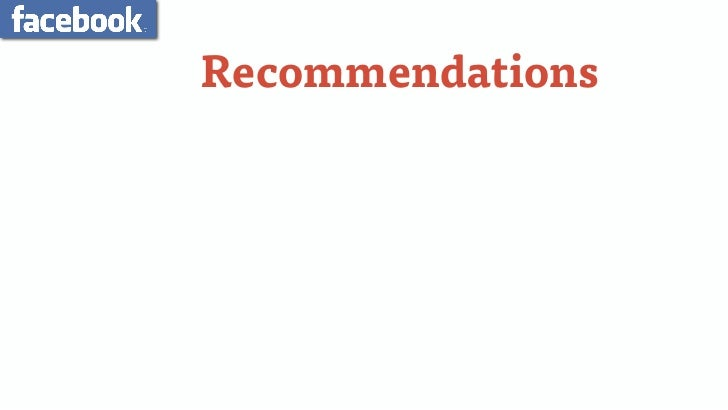 """Recommendations• Be Human / Add a Face / Enlist """"Hosts""""• User Generated Content• Elicit Conversations (Don't Own Them)• Li..."""