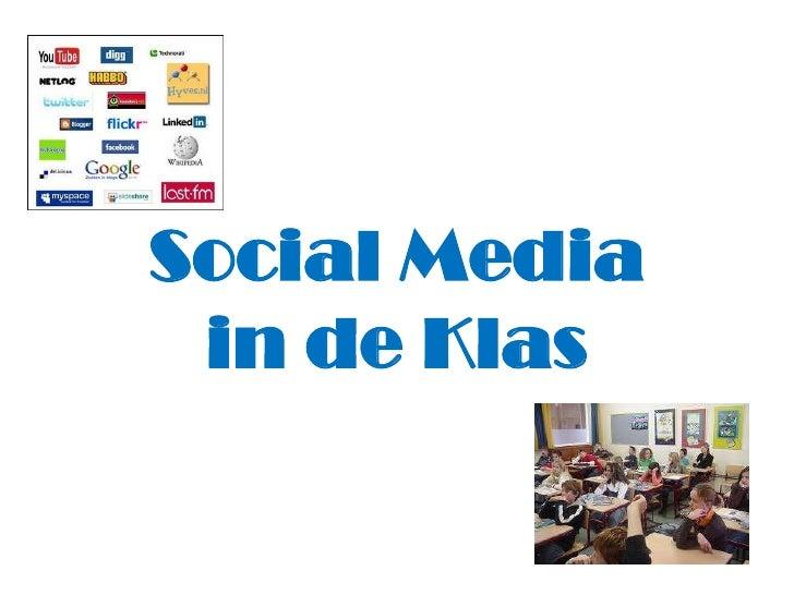 Ongebruikt Social media in de klas GL-63