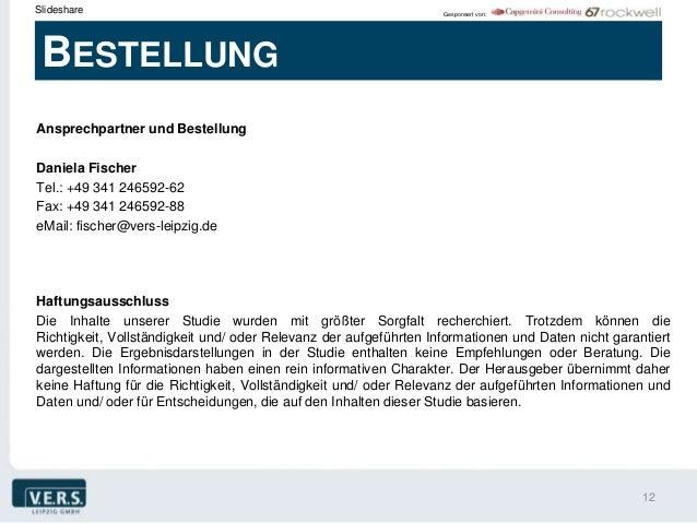 Slideshare                                                         Gesponsert von: BESTELLUNGAnsprechpartner und Bestellun...