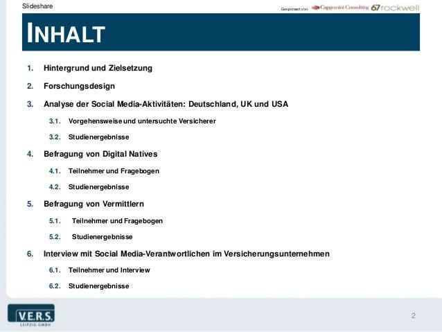 Slideshare                                                       Gesponsert von: INHALT 1.   Hintergrund und Zielsetzung 2...