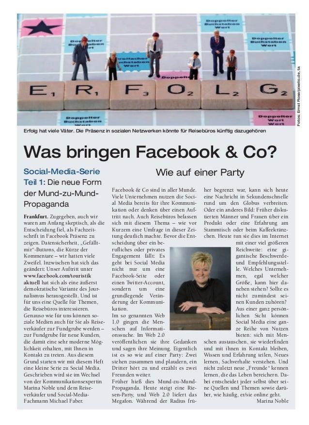 Facebook & Co sind in aller Munde. Viele Unternehmen nutzen die Soci- al Media bereits für ihre Kommuni- kation oder denke...