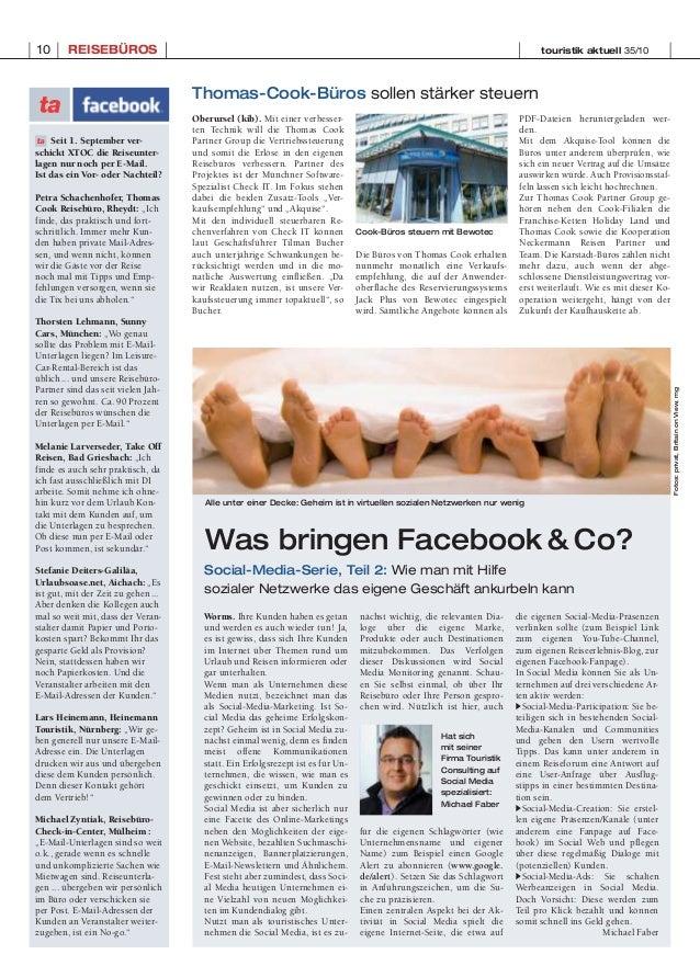 Social Media in der Touristik Slide 2