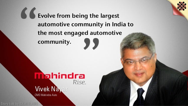 Story told by IDEATELABS Evolve from being the largest automotive community in India to the most engaged automotive commun...