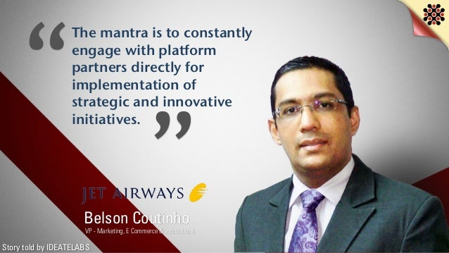 Story told by IDEATELABS The mantra is to constantly engage with platform partners directly for implementation of strategi...