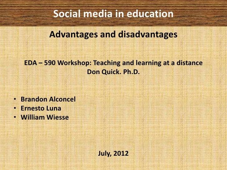 Advantages Of Social Media For Students Essay - image 2