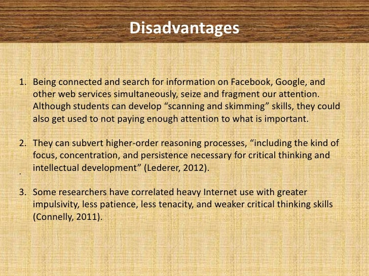 social media in education advantages disadvantages 4