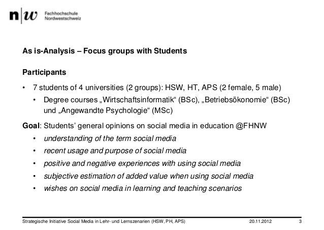 Always chasing something – Students' Perspective on Social Media in Higher Education Slide 3