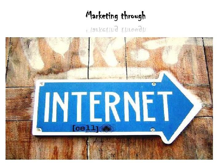 Marketing through<br />