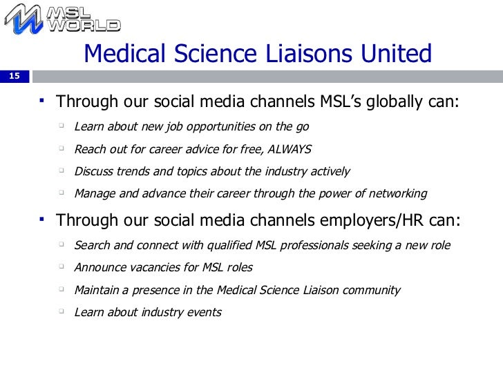 global community 15 - Resume Medical Science Liaison
