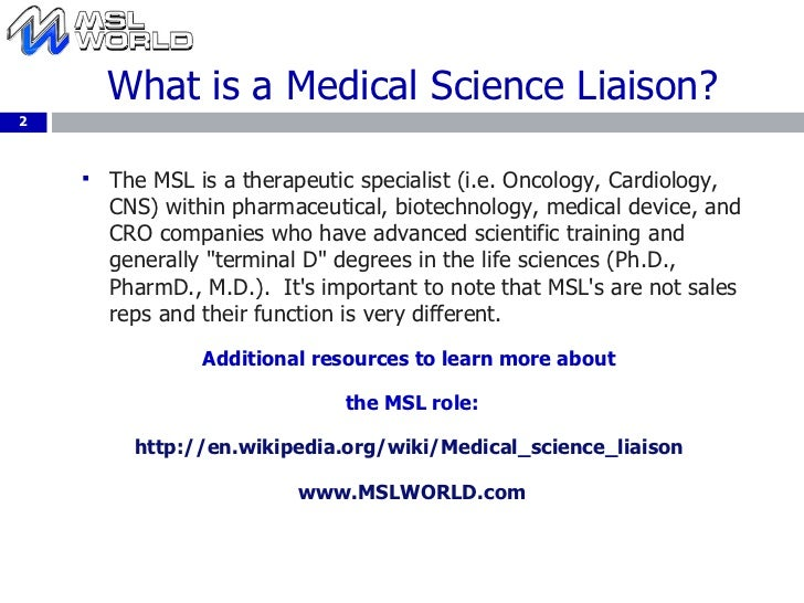 Social Media In Pharma-Case Study Of Medical Science Liaison World
