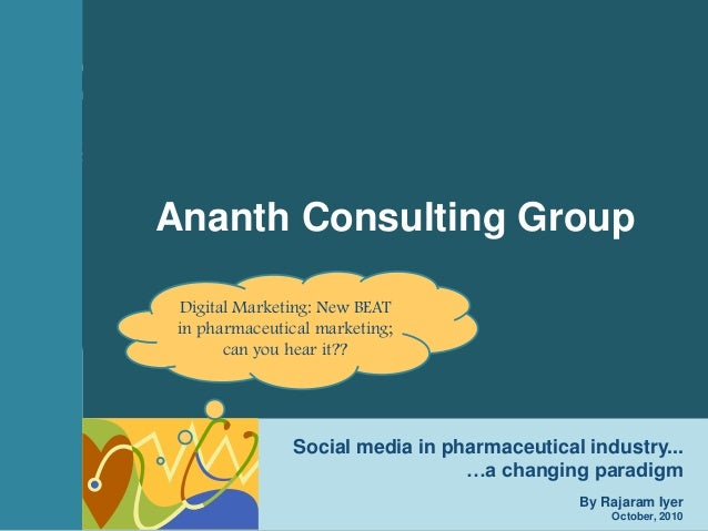 1Ananth Consulting Group (ACG)October, 2010 Ananth Consulting Group (ACG) www.ananthconsulting.com Digital Marketing in Ph...