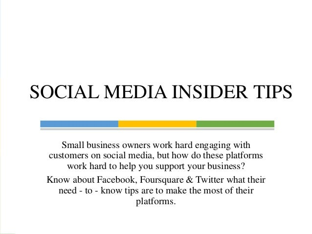 Small business owners work hard engaging with customers on social media, but how do these platforms work hard to help you ...