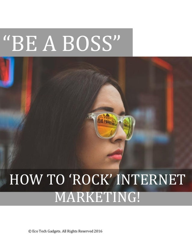 be a boss how to rock internet marketing social media. Black Bedroom Furniture Sets. Home Design Ideas