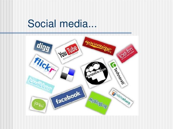 Customer Media & Social Networks Slide 2
