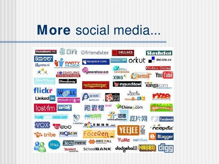Customer Media & Social Networks Slide 3