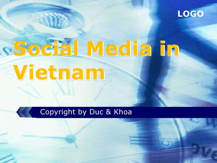 LOGOSocial Media inVietnam  Copyright by Duc & Khoa