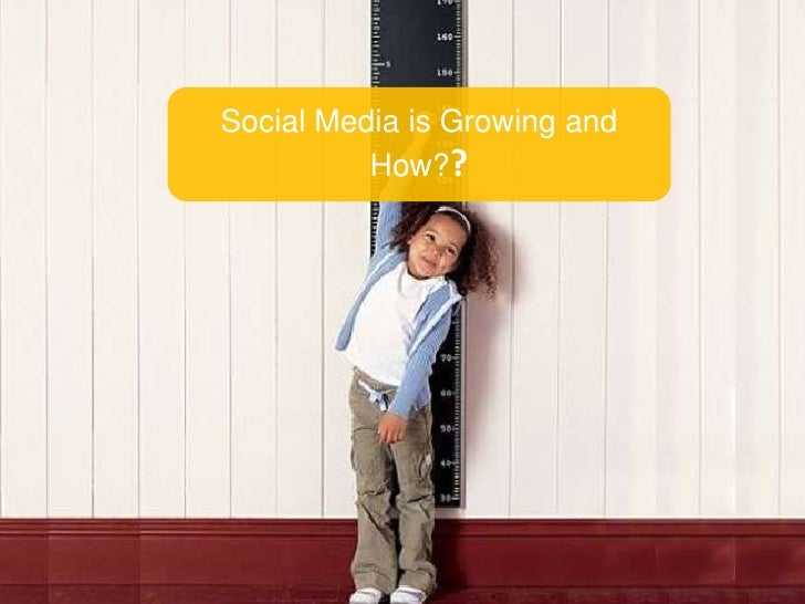 Social Media is Growing and How??<br />