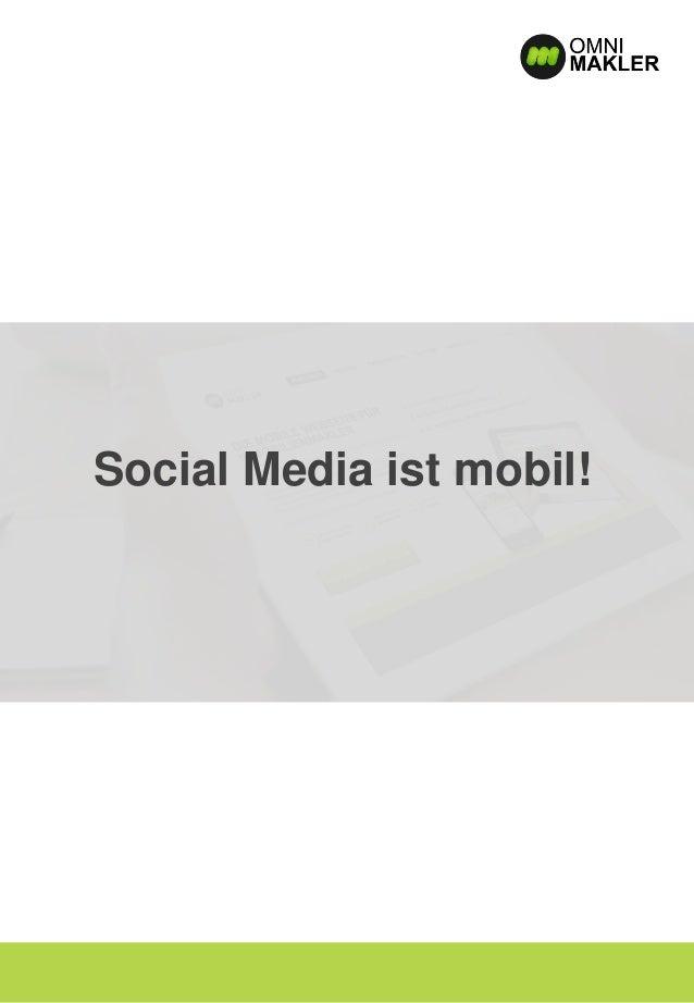 Social Media ist mobil!