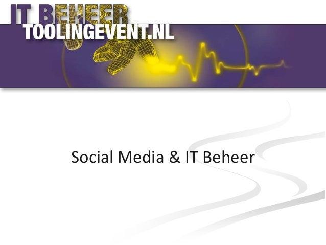 Social Media & IT Beheer