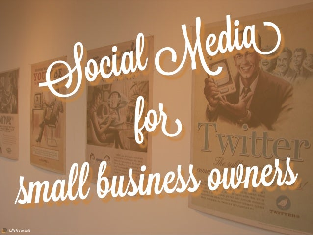 LAVA consultSocial Mediaforsmall business owners