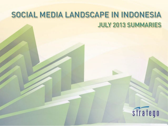 July 2013 Twitter is used (again) by people of Jakarta to spread critic and info about the street condition. Most brand ca...