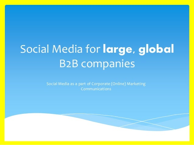 Social Media & Large, Global B2b Companies. Water Damage Prevention Best Bank For Savings. Affordable Online Phd Programs. Masters Public Administration. Commonwealth Orthopaedics Physical Therapy. California Auto Insurance Requirements. Futures Trading Companies Movers Littleton Co. Electric Gate Repair Dallas La Sober Living. Best Lean Six Sigma Certification Programs