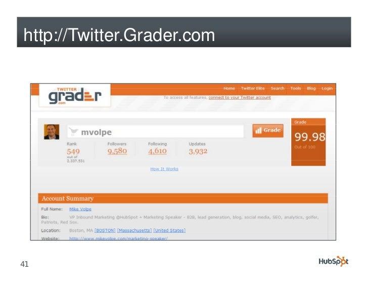 http://Twitter.Grader.com     41