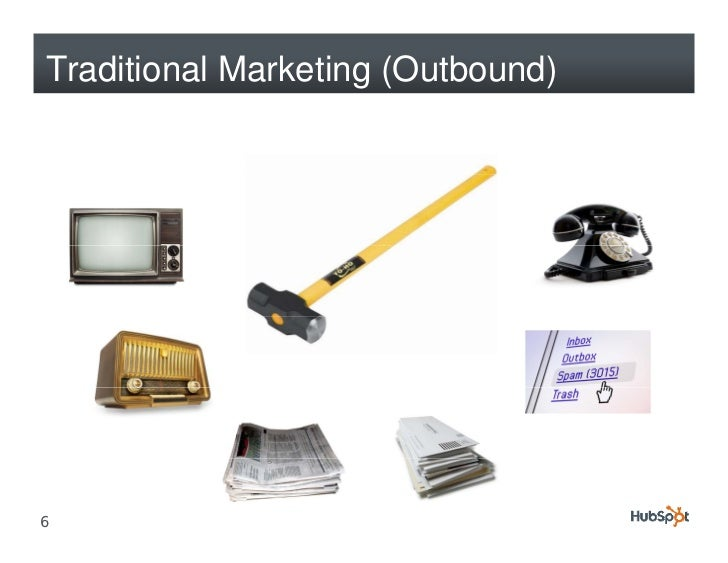 Traditional Marketing (Outbound)     6