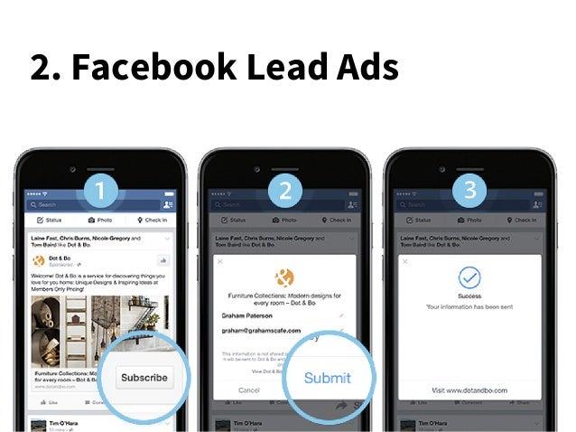 2. Facebook Lead Ads